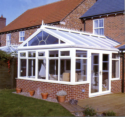 Docherty sons specialise in the supply and fit of for Detached sunroom