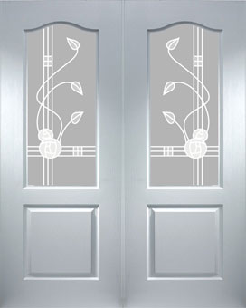 Mackintosh Interior Doors & Edwardian Lightly Grained Pvc Door ...