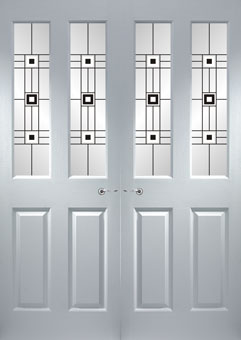 ... Grainger French Doors Decra Resin1 & Never Paint Again doors supplied and fitted throughout Glasgow